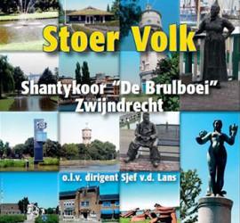 Shantykoor de Brulboei - Stoer Volk CD front
